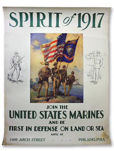 Spirit of 1917 poster by L. Whitman - 1917