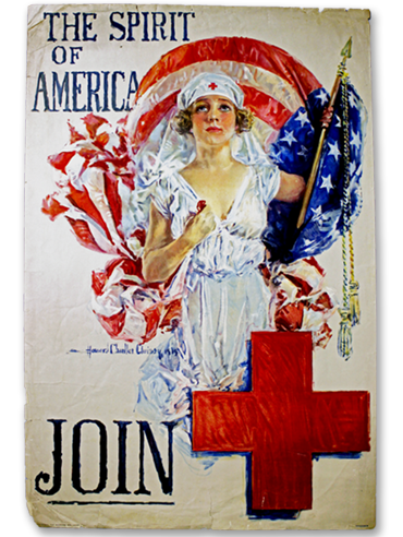 The Spirit of America poster by Howard Chandler Christy - 1919