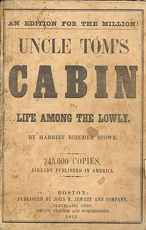 Uncle Tom's Cabin Cover (1853)