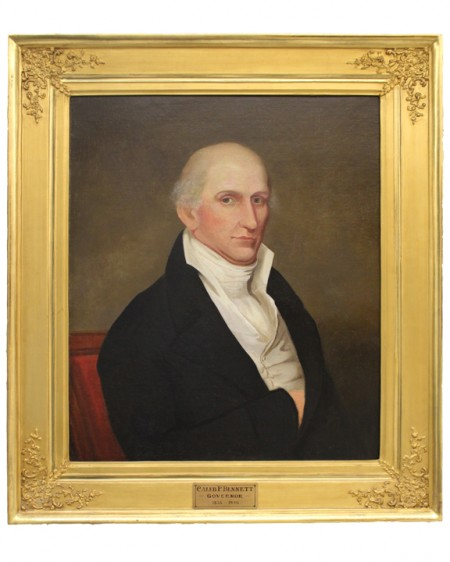 Captain during War of 1812 and Governor of Delaware from 1833-1836. Portrait is currently on display at Legislative Hall in Dover, DE.