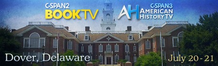 Masthead for C-SPAN's television segments filmed in Dover, Del.
