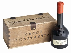 Grand Constance bottle and box