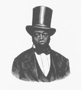 Underground Railroad conductor Samuel D. Burris.
