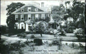 Historical photo of Belmont Hall.