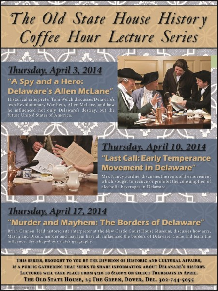 Old State House History Coffee Hour Lecture Series poster compressed