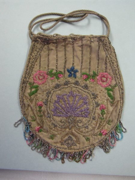 """Beaded purse, c. 1900–1910. From the collections of the state of Delaware. The purse will be featured in the """"Simple Pleasures: Picnic, Play and Dance"""" display at The Old State House."""