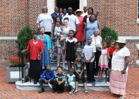 Members of the Summers family at The Old State House on Aug. 17, 2014.