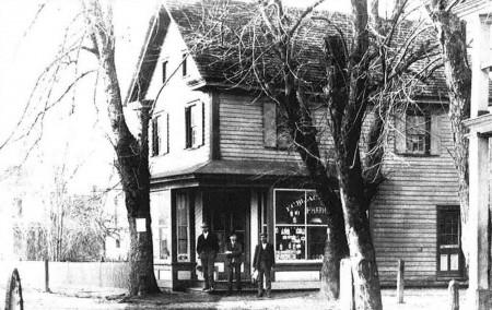 Burton-Blackstone-Carey Store, circa 1900.