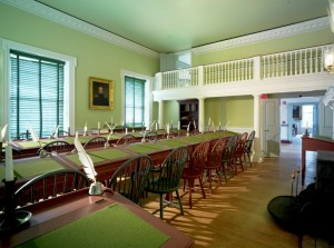 House of Representatives chamber in The Old State House. Photo by Don Pearse Photographers