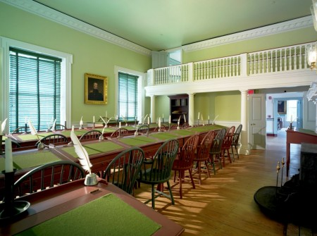"""The House of Representatives chamber in Dover's Old State House will be one of the locations featured in the program """"The People's House"""" on Nov. 8, 2016. Photo by Don Pearse Photographers."""