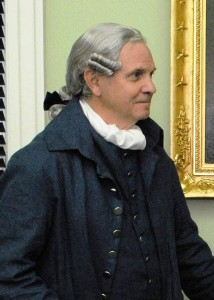 "Historic-site interpreter Tom Welch will portray George Washington as part of the ""Spying for Victory"" program on Feb. 18, 2018."