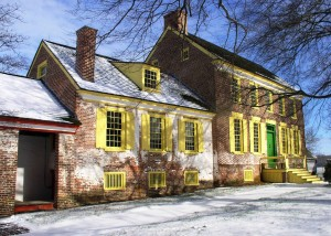 Mansion house at the John Dickinson Plantation