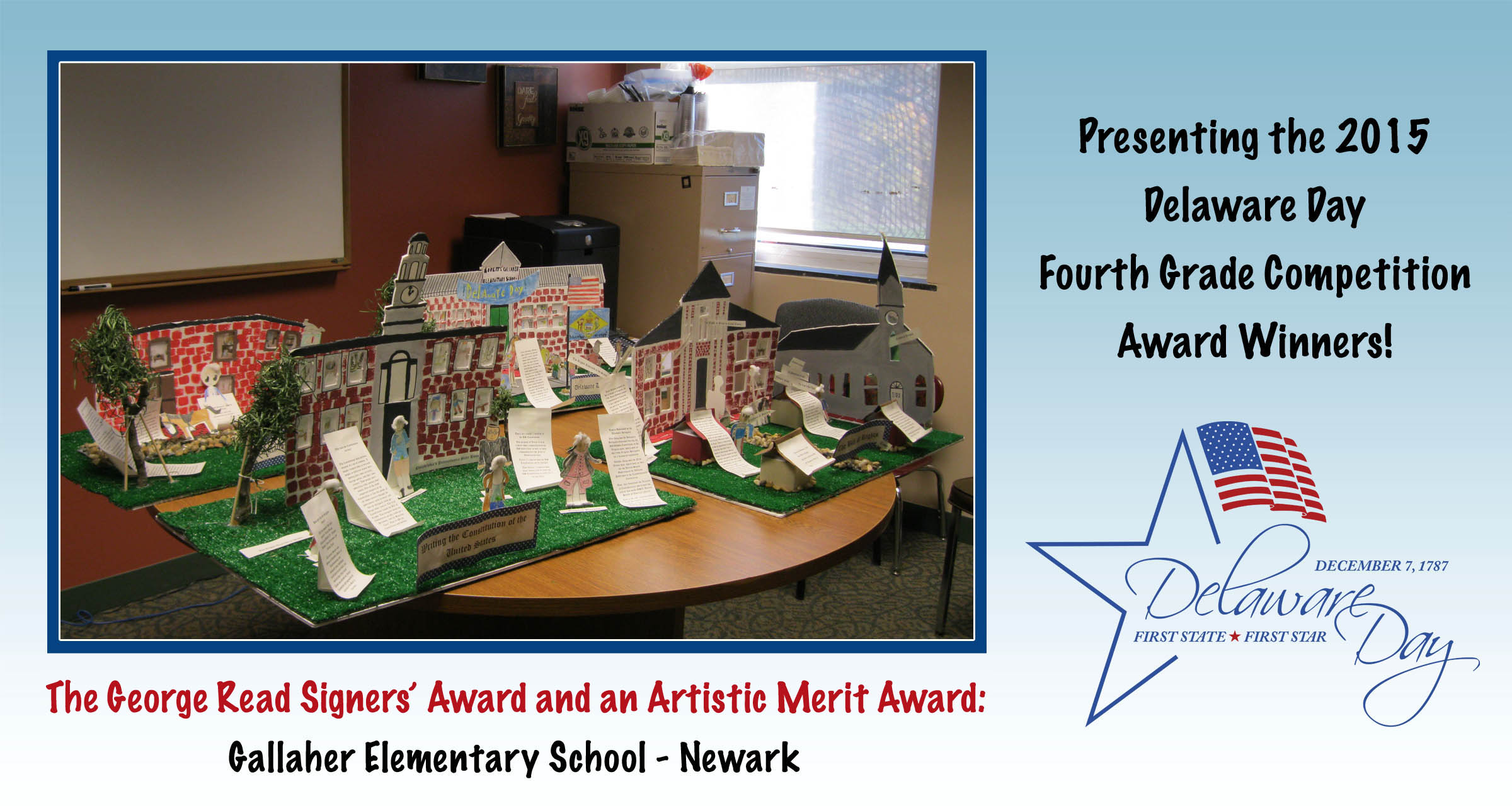 Fourteenth annual Delaware Day competition winners announced