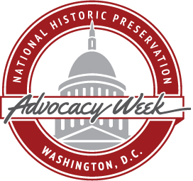 National Historic Preservation Advocacy Week Seal