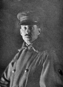 Orville Peets in Military uniform