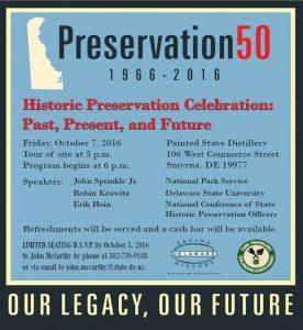 Preservation 50 event