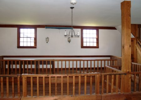 Refurbished interior of the Old Sussex County Court House.