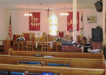 Interior, St. Paul AME Church