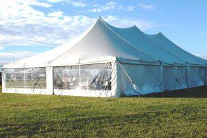 Tent from a previous Delaware Chautauqua.