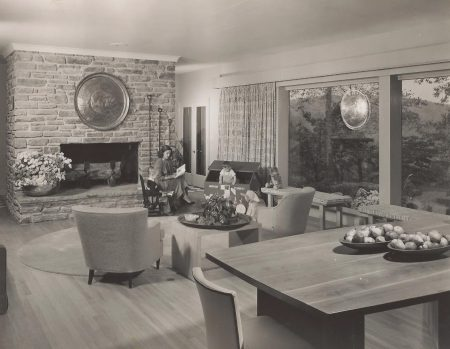 "Interior of the home at 901 Mt. Lebanon Road in Rockland, Del. that was listed in the National Register of Historic Places in 2017. The image is from a 1955 photo shoot for ""Better Homes and Gardens"" magazine."