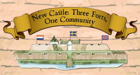 Three Forts exhibit logo