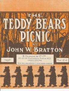 "Sheet music for ""The Teddy Bears' Picnic"""