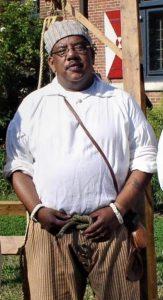 "Historic-site interpreter Tom Pulmano will be presenting ""Life at Sea"" during the ""18th Century Market Fair"" on Nov. 4, 2017."