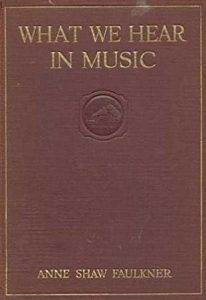 "Cover of ""What We Hear in Music"""