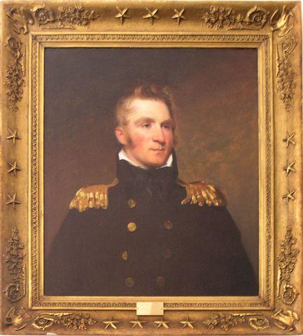 Portrait of Commodore Thomas Macdonough by Thomas Sully.