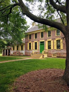 Mansion house at the John Dickinson Plantation