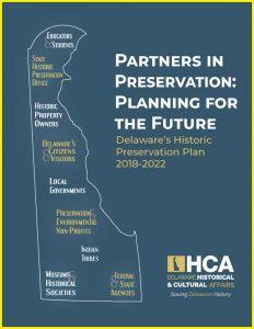 Delaware's Historic Preservation Plan, 2018–2022 cover
