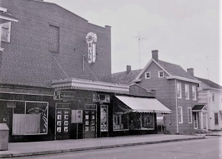 Historical photo of the Ball Theatre in Millsboro which was listed in the National Register of Historic Places on Sept. 13, 2018.