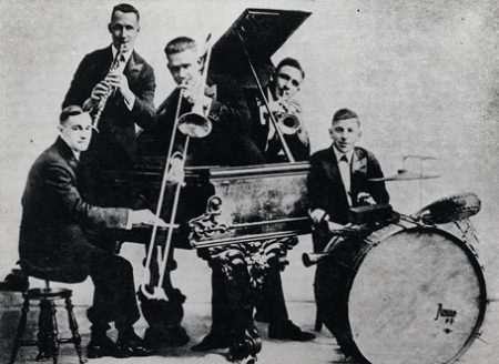 The Original Dixieland Jass Band made the first commercially released jazz recording in 1917 for the Victor Talking Machine Company. Early jazz will be explored at the Johnson Victrola Museum on Jan. 5, 2019.