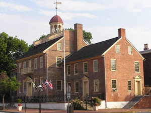 Photo of the New Castle Court House Museum