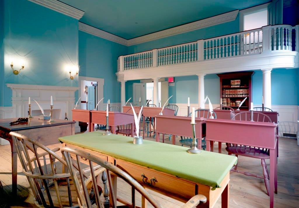 Image: Old State House Senate Chamber