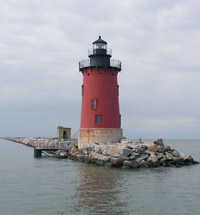 Image: The Delaware Breakwater East End Lighthouse