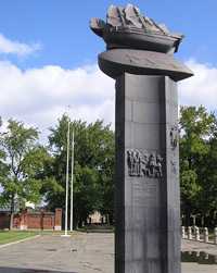 Image: Monument at Fort Christina