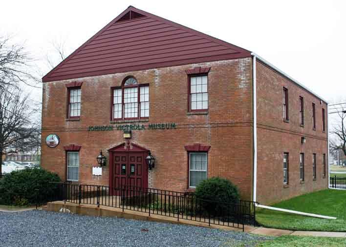 Image: Johnson Victrola Museum Exterior