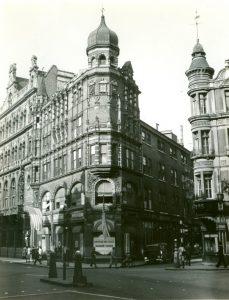 Rainbow Corner American Red Cross Club near Piccadilly Circus, London during World War II