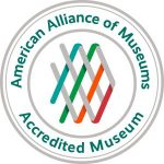 Photo of the American Alliance of Museums accreditation logo