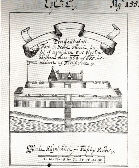 Illustration of Fort Casimir