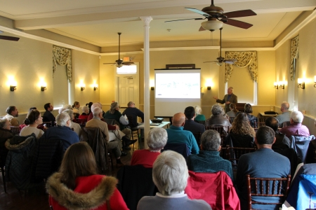 Photo of participants attending the Delaware Valley Archaeology and History Symposium.