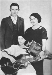 Photo of the Carter Family in 1927