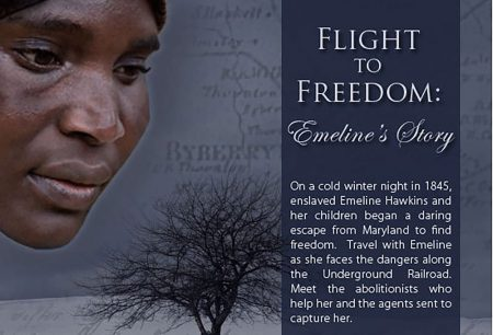 """Banner for """"Flight to Freedom"""""""
