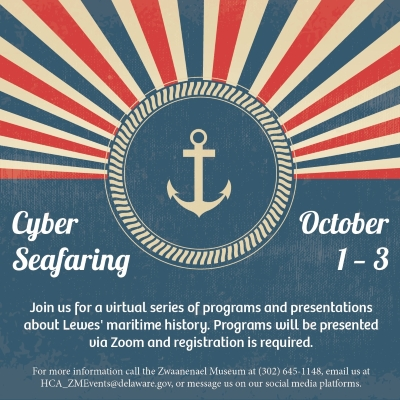 Photo of the Cyber Seafaring poster