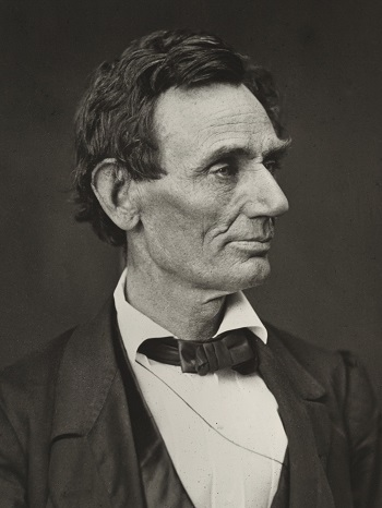 Photo of Abraham Lincoln in 1860