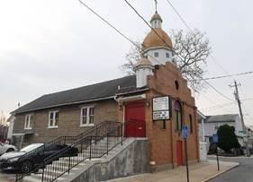 Photo of St. Nicholas Ukrainian Catholic Church (now New Calvary Baptist Church) in Wilmington