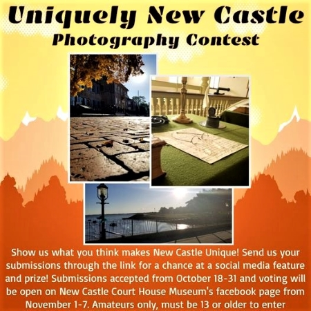 "Photo of ""Uniquely New Castle"" banner"