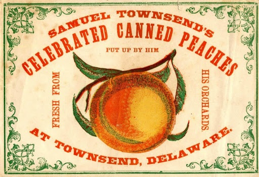 Photo of Townsend's canned peaches