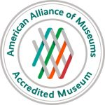 Photo of American Alliance of Museums accreditation logo